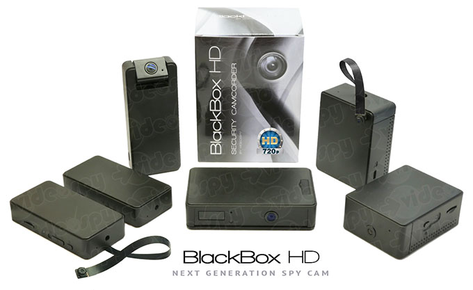 Minitelecamere BlackBox HD