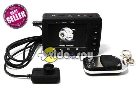 Telecamera Nascosta In Oggetti : Kit completo con micro telecamera indossabile e occultabile