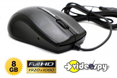 Telecamera Nascosta Da Esterno : Mouse con telecamera nascosta full hd